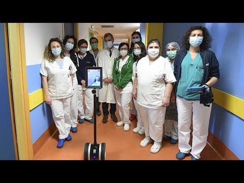 COVID-19: Ρομπότ βοηθούν τους γιατρούς – Σε καραντίνα Ιταλία, Ισπανία και Γαλλία …
