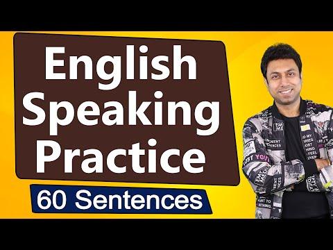 English Speaking Practice | 60 Sentences | Awal