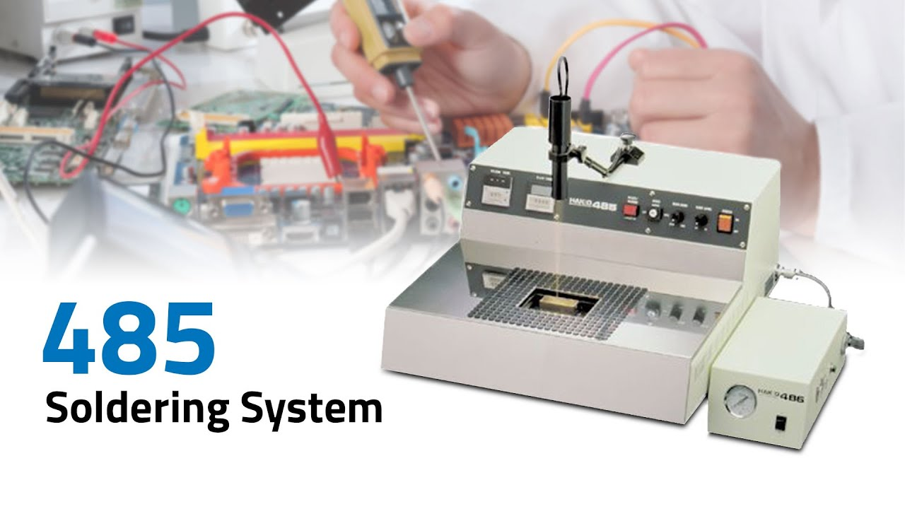 485 Table Top Soldering System