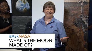 #AskNASA┃ What is the Moon Made of? by NASA