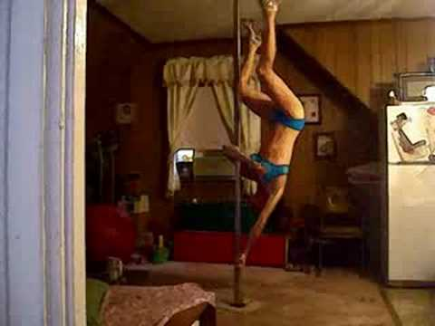 Fun Combos Practice W/ 1 New Move..Pole Dancing!