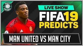 Download Video Man Utd vs Man City FIFA 19 Goldbridge Predicts MP3 3GP MP4