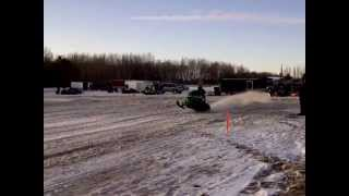 3. 250 HP Arctic Cat Z1 Turbo Drags Race
