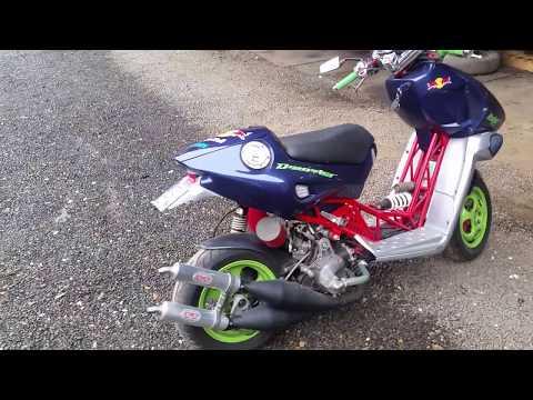 italjet dragster 50 - youtube