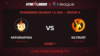 SatuDuaTiga vs Signature, game 1