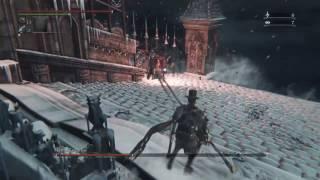 Bloodborne - New Game Plus 6 Martyr Logarius Boss Fight