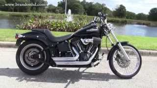 7. Used 2007 Harley Davidson FXSTB Night Train