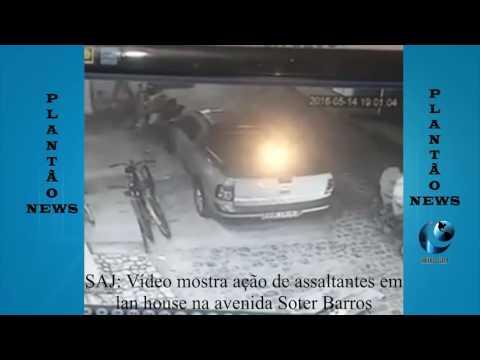 Dois assaltantes roubam lan house em Santo Antonio de Jesus