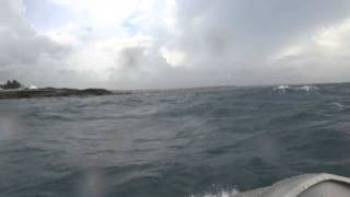 9. Riding a Waverunner in rough water and waves @ Arecibo, PR
