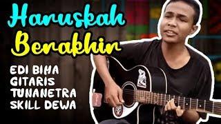 Video Haruskah Berakhir (Cover) - Edi Tunanetra Asal Bima NTB  - Gitar Akustik MP3, 3GP, MP4, WEBM, AVI, FLV Juli 2018