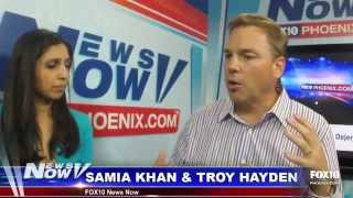 FOX 10 News Now - Super Bowl Q&A with Troy Hayden, Interview w/ Seahawk Zach Miller's Brother