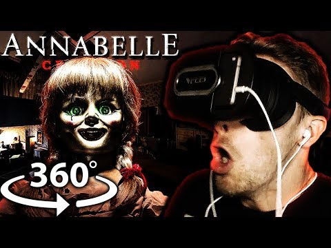 "Vapor Reacts #423 | Annabelle: Creation 360 VR ""Bee's Room"" REACTION!! SHE'S SO SCARY!!"