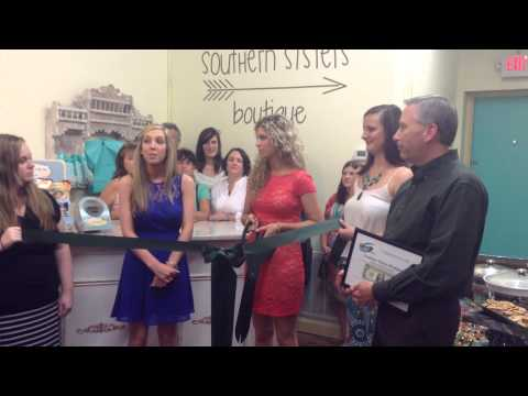 Southern Sisters Boutique Ribbon Cutting