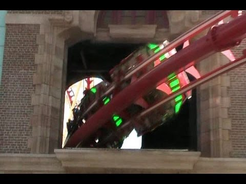 offride - Here's an up-close look at this super high tech coaster. See how the crew dispatches the trains from the moving walk-way loading platform, riders make their ...