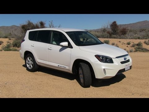 2013 Toyota RAV4 EV 0-60 MPH Technology Demonstration