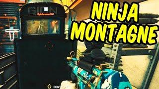 NINJA MONTAGNE - Rainbow Six Siege Funny Moments & Epic Stuff