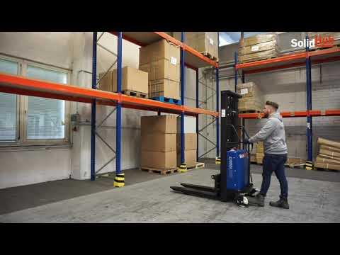 Produktvideo SolidHub Semi-Elektrostapler HSE1000/3