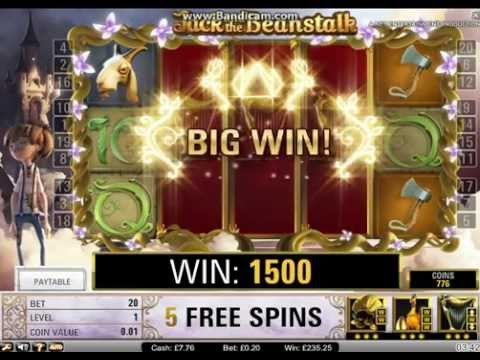 Jack And the Beanstalk Online Slot - Minimum Stake HUGE WIN!!!!!!!  (1340xBet)