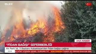 Gaziosmanpaşa'dan Manavgat Ve Yangın Bölgelerine Fidan Bağışı - Ülke Tv
