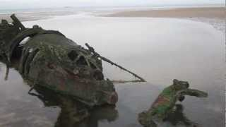 Aberlady United Kingdom  City new picture : Aberlady Bay XT Class Submarine Wrecks, a visit and a view back in time...