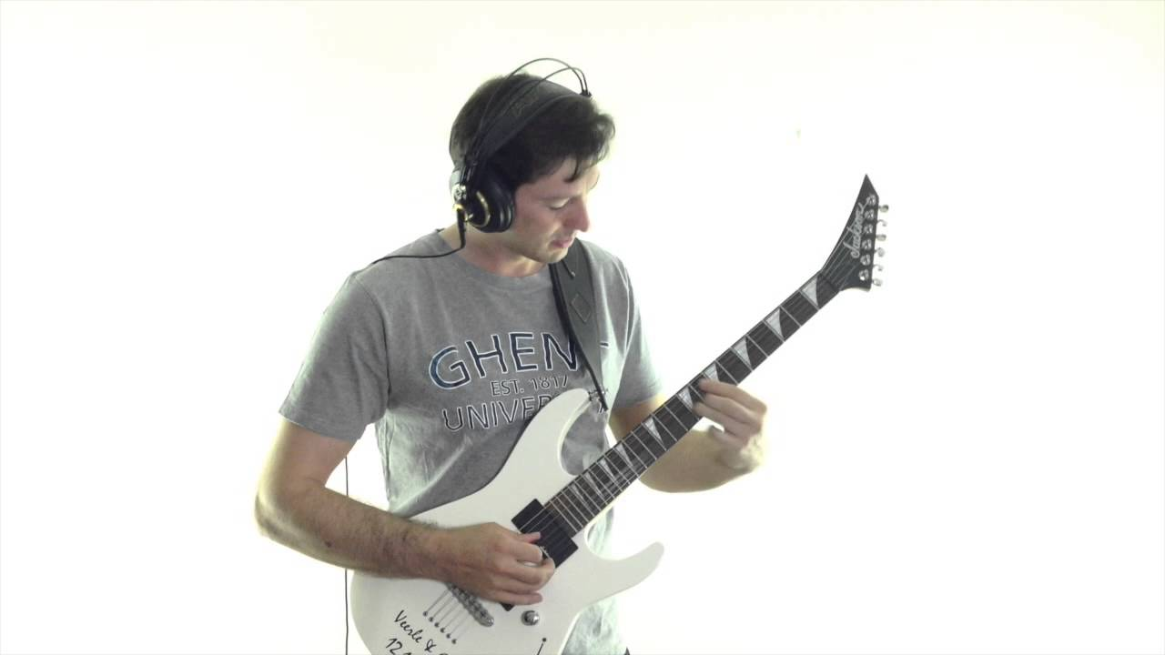Last of the Mohicans on Electric Guitar