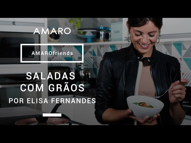 #AMAROfriends | Saladas Diferentes por Elisa Fernandes - Amaro