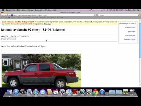 Craigslist kokomo indiana used cars ford chevy and dodge for sale