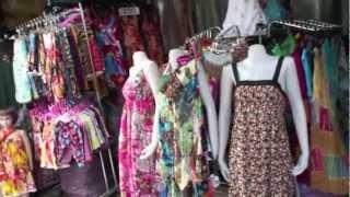 バンコク市内観光チャトゥチャック市場・ウィークエンドマーケット