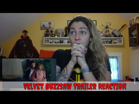 Velvet Buzzsaw Official Trailer REACTION & Review! (Netflix)