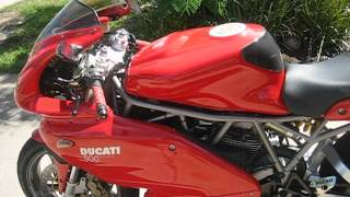 9. 2001 Ducati 900 Supersport i.e. for sale