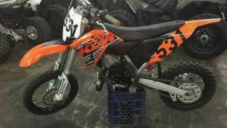 10. New 2014 KTM 65 SX Motorcycle For Sale in Salem Near Effingham, Champaign, and Mt. Vernon, IL