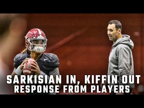 How Tide is reacting to Sarkisian's new role after Kiffin's exit