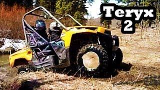 5. ATV Mudding 4x4 Kawasaki Teryx 750