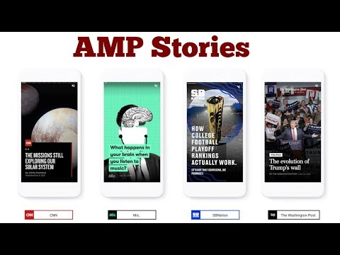 "Google Introduces ""AMP Stories"" In Mobile Search  And ""AMP For Email"" In Gmail"