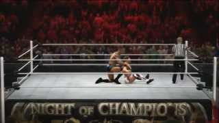 WWE Night Of Champions 2013 Full Results & Reactions Live! ft WWE 13 gameplay