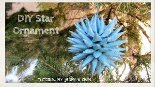 Christmas Crafts - DIY Polish Star Ornament - Christmas Decoration - Paper Crafts Tutorial