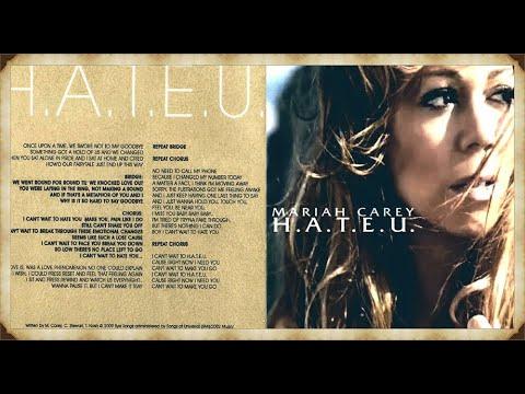 Mariah Carey - H.A.T.E.U. [11-Tracks EP]