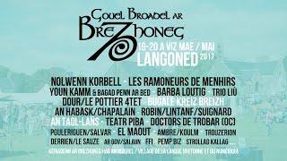 Gouel broadel ar brezhoneg ha distro an Taol-Lañs d'an 19 ha d'an 20 a viz Mae 2017 e Langoned (Kreiz Breizh). Mirit ho teiziad! Bilhederezh: ...