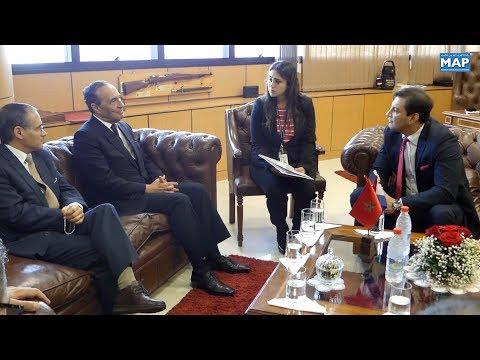 سبل إعطاء دينامية للتعاون الثنائي محور مباحثات بأسونسيون للسيد المالكي مع رئيس الكونغريس البراغو