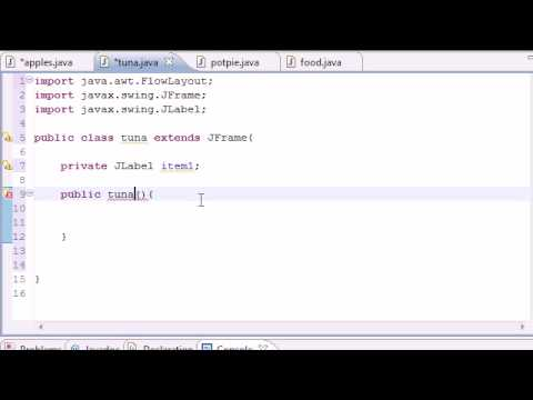 Java Programming Tutorial - 51 - GUI With JFrame