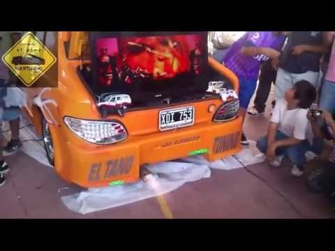 autos echando fuego, catamarca tuning tour    maxtuning.com.ar