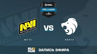 Na'Vi vs North - ESL Pro League S6 EU - de_overpass [yXo, Enkanis]