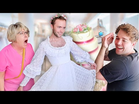 I Wore My Mom's Wedding Dress for a Day!