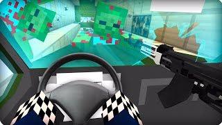 Застрял в тоннеле [ЧАСТЬ 24] Зомби апокалипсис в майнкрафт! — (Minecraft — Сериал)