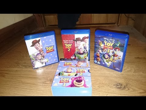 Toy Story Trilogy Blu-Ray Unboxing (HD)