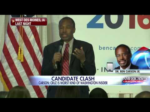 VIDEO: Ben Carson Says Cruz Told Voter Carson Dropped Out