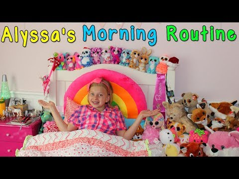 Alyssa's Morning Routine - Family Fun Pack