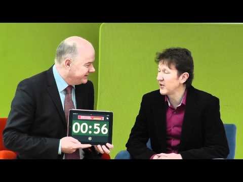 Niall Laird, Lairdesign, takes the 60 second challenge with Omagh Enterprise.