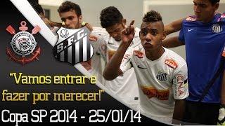 Confira tudo o que rolou no vestiário do Peixe antes da grande final contra o Corinthians na Copa SP 2014! ** Inscreva-se na...