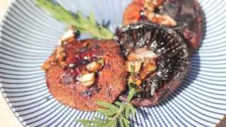 Barbecued Portabella Mushrooms